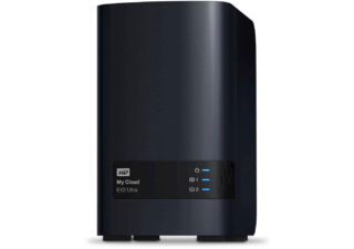 Western Digital My Cloud EX2 Ultra Serveur NAS 2 baies 20 To noir