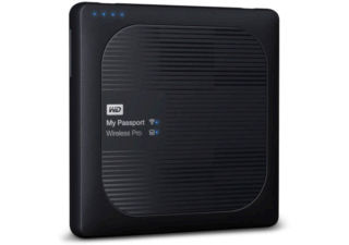 Western Digital disque dur Wi-Fi externe My Passport Wireless Pro 4 TB noir