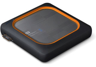 Western Digital My Passport Wireless SSD 1 To disque Wi-Fi externe gris