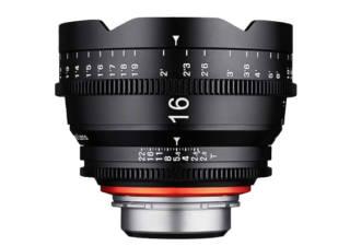 XEEN 16 mm T2.6 monture PL objectif vidéo