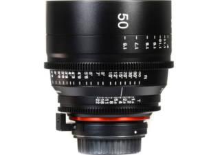 XEEN 50 mm T1.5 monture PL objectif vidéo