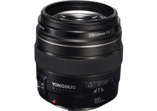 YONGNUO YN 100 mm f/2 monture Canon objectif photo