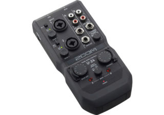 ZOOM U-24 Interface audio 2 entrées / 4 sorties