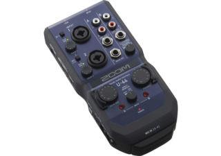 ZOOM U-44 Interface audio 4 entrées / 4 sorties
