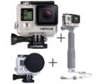 GOPRO caméra HERO 4 Black Edition - Pack SNOW 5